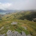 Looking west from the same viewpoint.- Ōtepatotu Track to Lavericks Peak