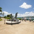 Anchor from the USS Arizona at the Pearl Harbor Historic Sites.- Pearl Harbor Historic Sites