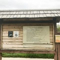 Campground board and pay station.- Magpie Campground
