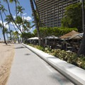 Fort DeRussy Boardwalk along Waikīkī Beach.- Waikīkī Beach