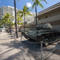 World War II era U.S. Light Tank, M24, at the Fort DeRussy U.S. Army Museum.- Fort DeRussy Beach Park