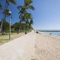 Kapi'olani Beach Park.- Queen's Beach / Walls + Kapi'olani Beach Park