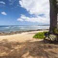 Kaiaka Bay Beach Park and campground.- Kaiaka Bay Beach Park + Campground