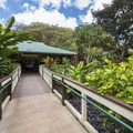 Entrance to Waimea Valley.- Waimea Valley Botanical Garden + Cultural Center