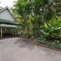 Entering Waimea Valley.- Waimea Valley Botanical Garden + Cultural Center