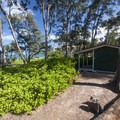 Plantation Hale at Mālaekahana Beach Campground.- Mālaekahana Beach Campground