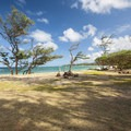 Mālaekahana Beach Campground.- Mālaekahana Beach Campground