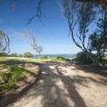 Mālaekahana State Recreation Area.- Mālaekahana State Recreation Area Campground