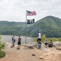 The first of four scenic overlooks.- Breakneck Ridge