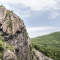 Mined rock faces.- Breakneck Ridge