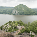 Looking down at the path.- Breakneck Ridge