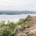 The Hudson River to the north.- Breakneck Ridge