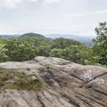 Flat rocks along the true summit.- Breakneck Ridge