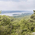 More lookouts with views above the trees to the north.- Breakneck Ridge