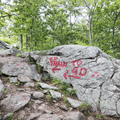 The Red Trailhead leading to Route 9D.- Breakneck Ridge
