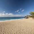 The broad and sandy beach at Sandy Beach.- Sandy's Beach