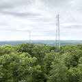 Cell towers across the horizon.- Ninham Mountain Fire Tower