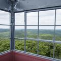 The top of the Mount Ninham Fire Tower.- Ninham Mountain Fire Tower