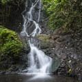 Fifteen-foot Likeke Falls.- Likeke Falls