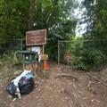 Trailhead for Lulumahu Falls.- Lulumahu Falls Hike