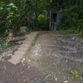 The trail continues up stairs Nu'uanu Reservoir.- Lulumahu Falls Hike