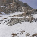 Looking toward Frog Pond.- Mount Whitney: Winter Mountaineers Route