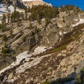 The North Fork in early summer.- Mount Whitney: Winter Mountaineers Route