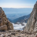 The Notch.- Mount Whitney: Winter Mountaineers Route