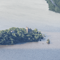 Bannerman's Castle on Pollepel Island.- Storm King Mountain