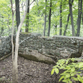 An old water retention area.- Storm King Mountain