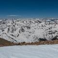 Looking northwest over the peaks of the East Ridge.- Mount Elbert East Ridge Hike