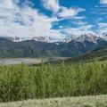 Great views from a car camp near the trailhead.- Mount Elbert East Ridge Hike