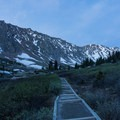 It's wise to start before dawn to get the best light and ensure a parking spot.- Grays Peak + Torreys Peak
