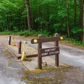 RV sanitary station is at the southern loop exit.- Mount Ascutney State Park Campground