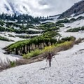 Numerous waterfalls and a steep ascent ahead.- Mount Timpanogos Backcountry Tour