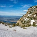 After topping out on the Aspen Grove Trail.- Mount Timpanogos Backcountry Tour