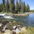 Beautiful scenery at North Davis Creek.- North Davis Creek Campground