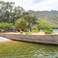 The boat ramp is open to campers and day users.- Apache Lake Campground + Marina