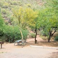 All sites are first-come, first-served, so get here early to ensure a great one.- Burnt Corral Campground