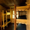 Bunkhouses fit four to five people per room.- Lonesome Lake AMC Hut