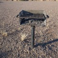 Nice grills in each site.- Riverview Campground