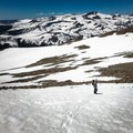 The trail down is difficult to follow when snow levels are high, so be sure to have a GPS handy.- Mount Dana Couloir