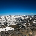 The summit of Mount Dana offers unparalleled views of Yosemite's high country.- Mount Dana Couloir
