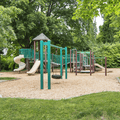 A playground on the grounds.- Croton Point Campground