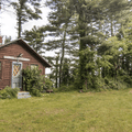 A historical cabin.- Croton Point Campground