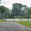 A basketball court on the grounds.- Croton Point Campground