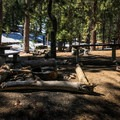 Little Jimmy offers over a dozen campsites with fire rings, picnic tables, and vintage backcountry stoves!- Little Jimmy Campground