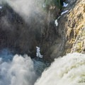 The power of Yellowstone Falls is tremendous.- Brink of Upper Yellowstone Falls