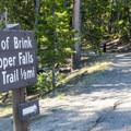 It is a short stroll from the parking area to the overlooks.- Brink of Upper Yellowstone Falls