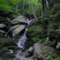 Another trailside waterfall.- Mount Mansfield via Hell Brook + Long Trails